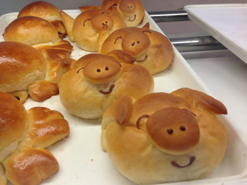 Novi S Pastry House Hippo Bakes Animal Shaped Bread Novi