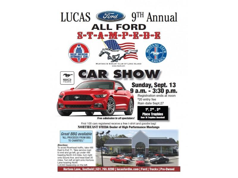 Car Show l 9th Annual Ford Car Show l Lucas Ford in Southold  sc 1 st  Patch & Car Show l 9th Annual Ford Car Show l Lucas Ford in Southold ... markmcfarlin.com