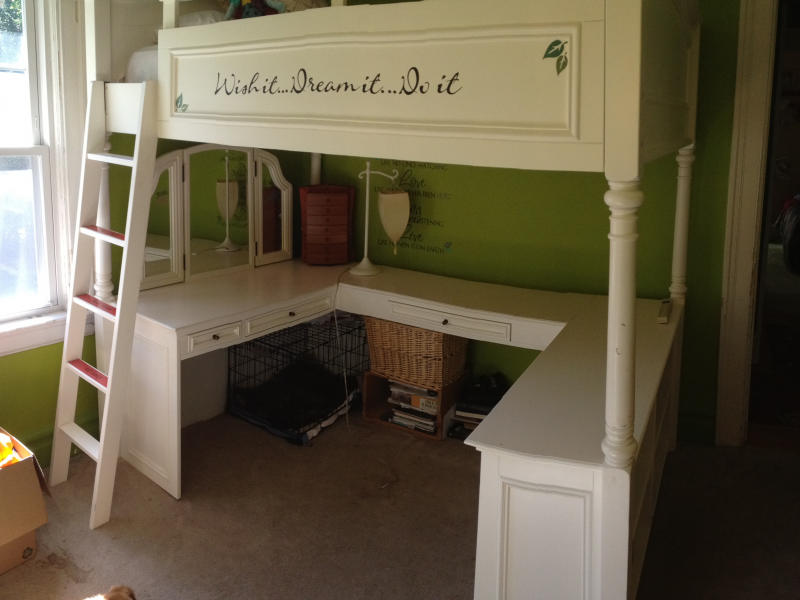 Wonderful Pb Teens Loft Bed For Quick And Discounted Sale
