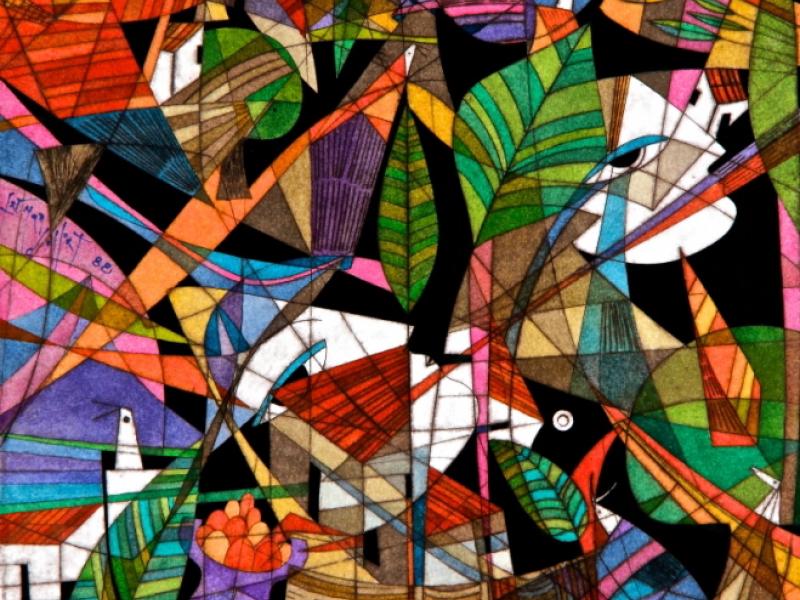 El Salvadorian Artist Fernando Llort Exhibit Evanston