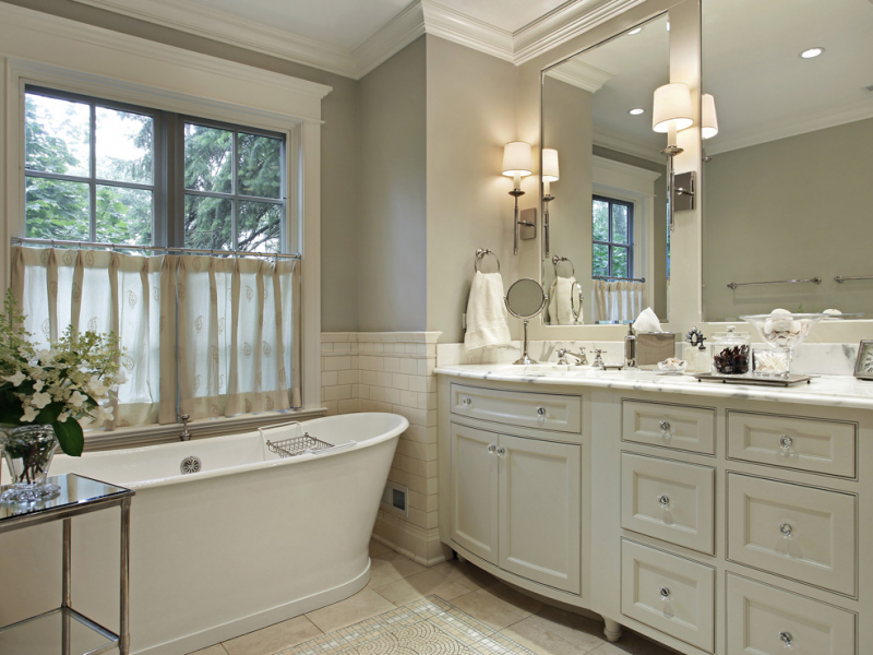 Master Bathroom Small make a small master bathroom large on luxury - san marino, ca patch