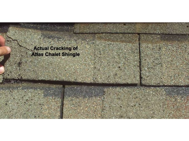 Defective Atlas Chalet Shingles Your Insurance Company May
