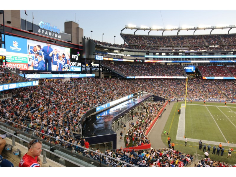 New England Patriots Home Field Weather