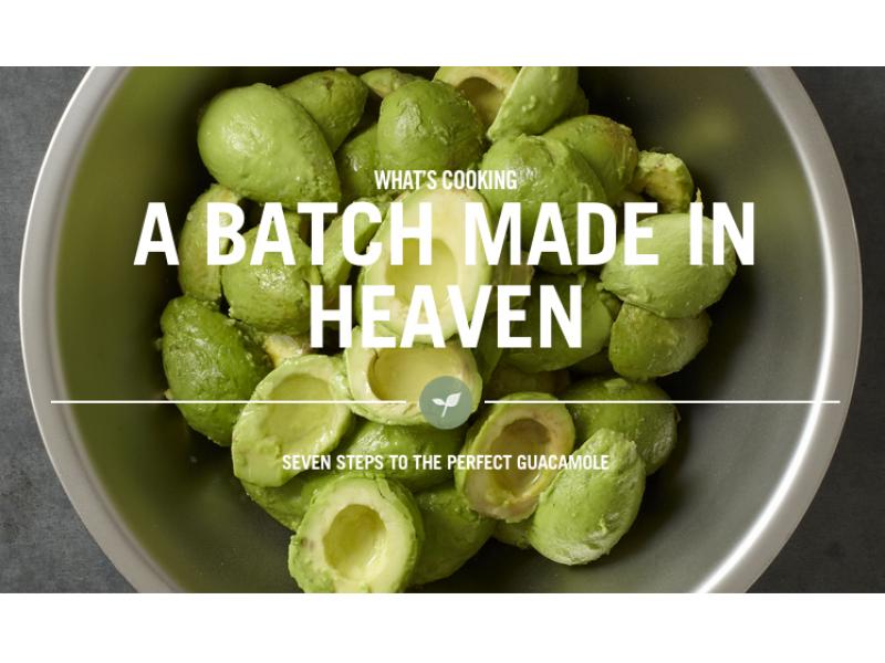 Holy guacamole chipotle reveals its secret recipe union - Garden state check cashing newark nj ...