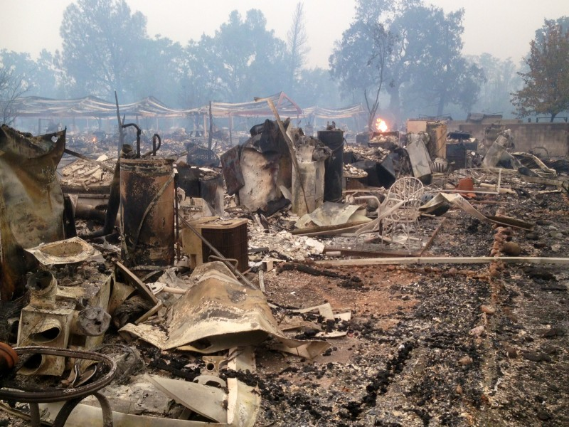 Valley Fire Already The 9th Most Destructive In California