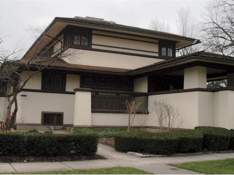 1901 Frank Lloyd Wright Completes The F B Henderson
