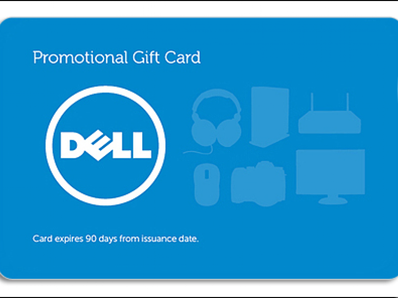 $100 Dell eGift Card Expires 12/04/2013 - $85 | Libertyville, IL Patch