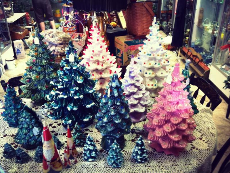 Make A Ceramic Christmas Tree