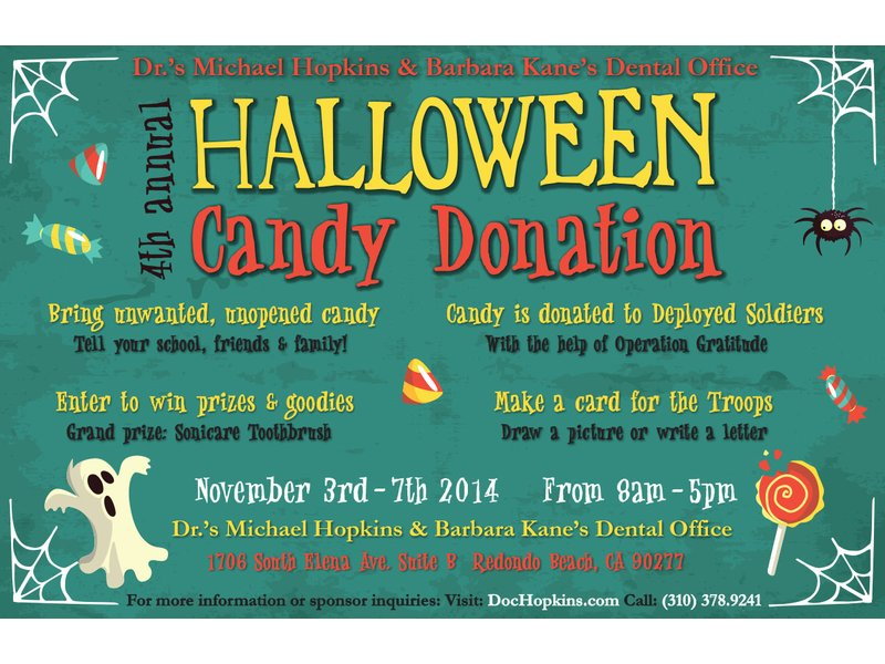 Halloween Candy Donation 2014 Redondo Beach Ca Patch