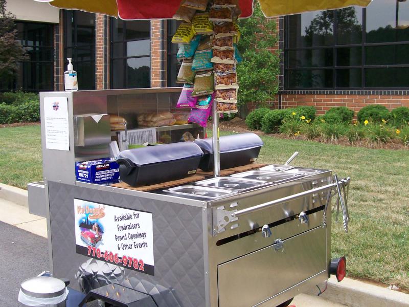 Hot Dog Cart Atlanta