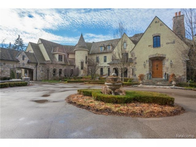 20 000 Square Foot Story Book Castle West Bloomfield Real
