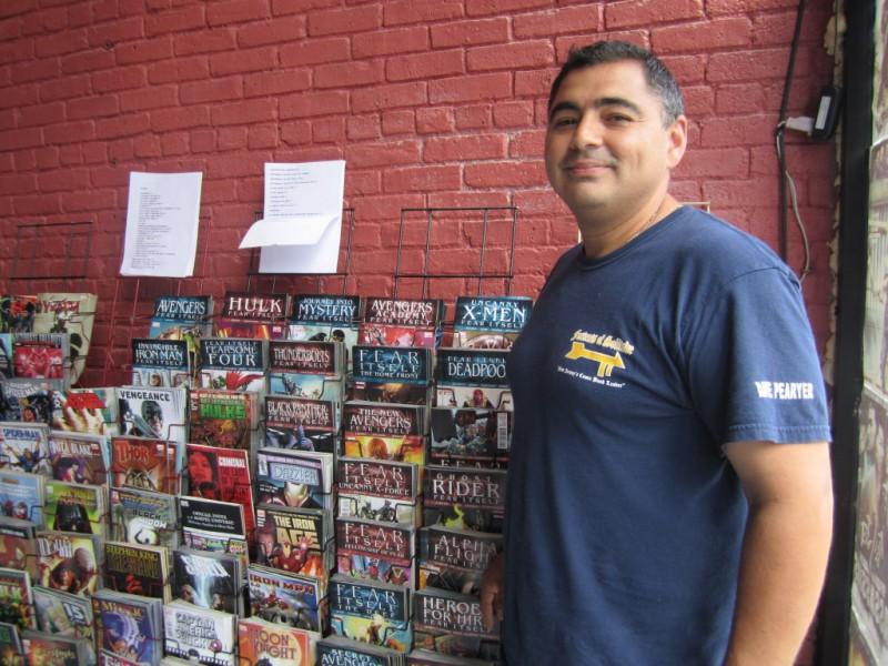 Newark Firefighter Shuns Life Of Crime Through Comics
