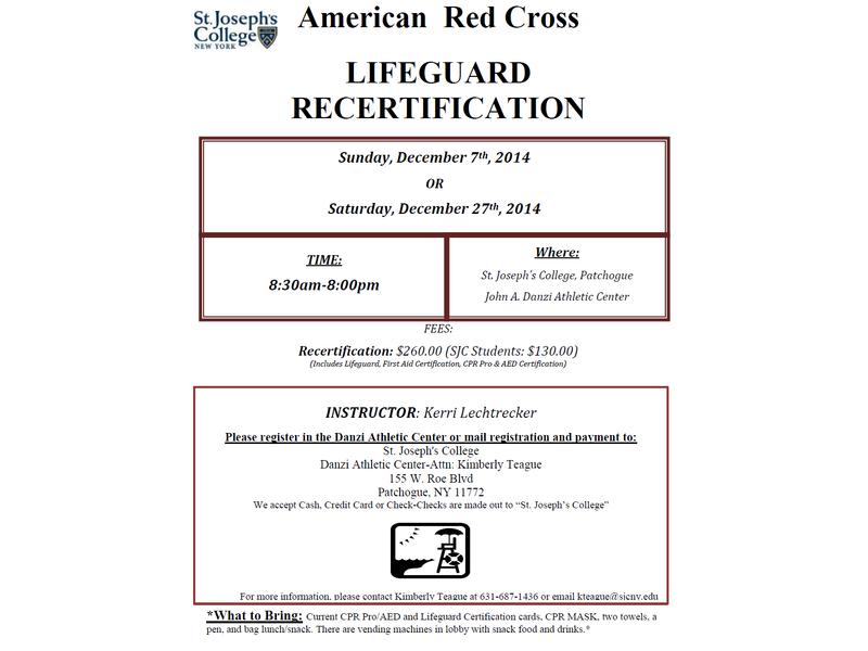 Lifeguard Certification Long Island