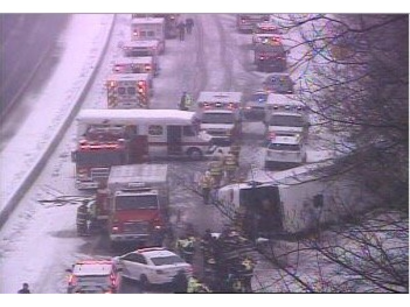 Connecticut Bus Crash: Dozens Injured on Way to Mohegan Sun