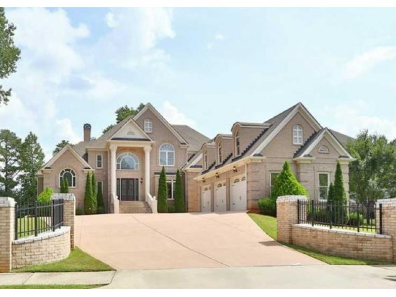 Amazing 5 Bedroom Houses For Sale Part - 13: ... WOW House: European Brick Estate In Downtown Alpharetta-0 ...
