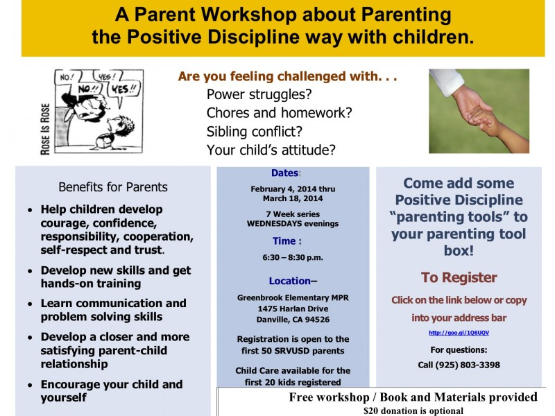 Lyft Stock Price >> Free Positive Parenting Workshop! | Danville, CA Patch