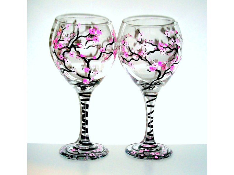 Paint your own wine glass workshop reston va patch for Wine and paint boston