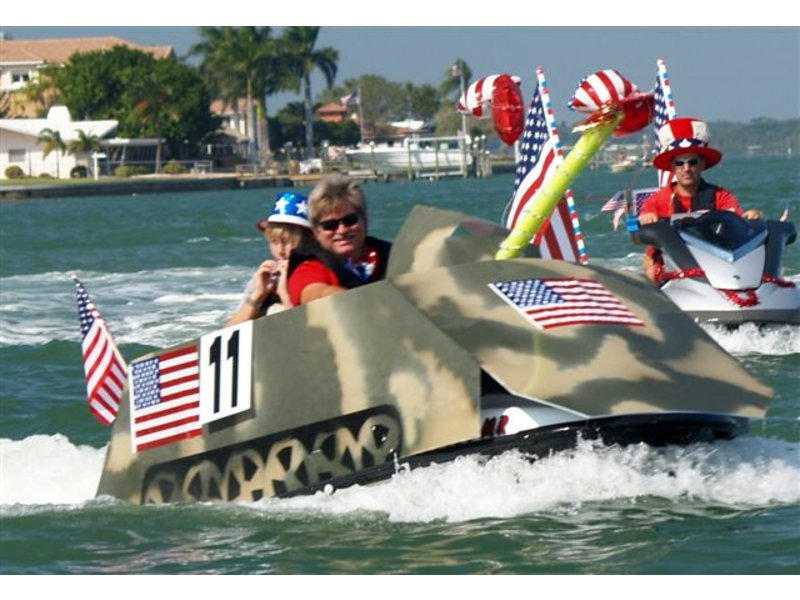 Tampa Bay Jetski Club Christmas Parade Ride! - Dunedin, FL Patch