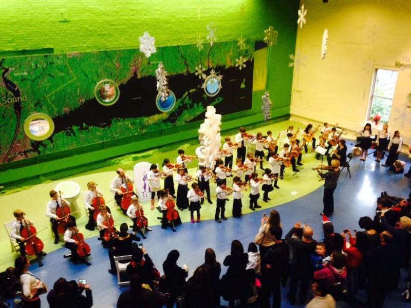 family concert: talent education suzuki school mixed ensemble at
