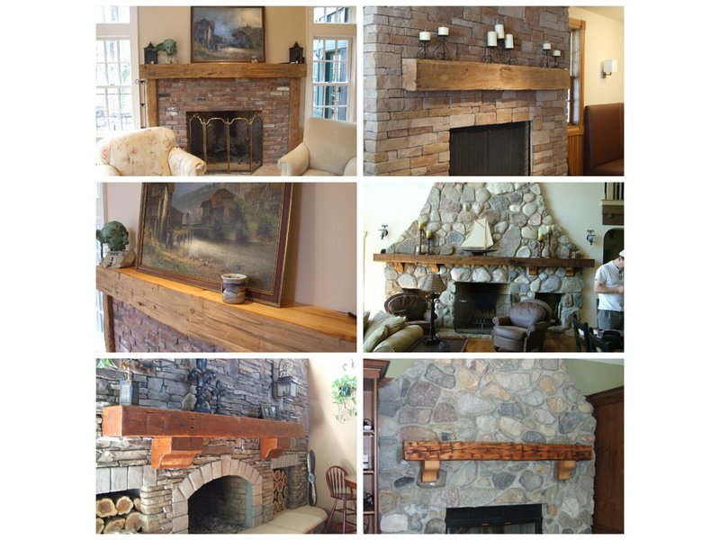 Old Distressed Recycled And Reclaimed Rustic Barn Wood Fireplace Mantels Bernardsville Nj Patch
