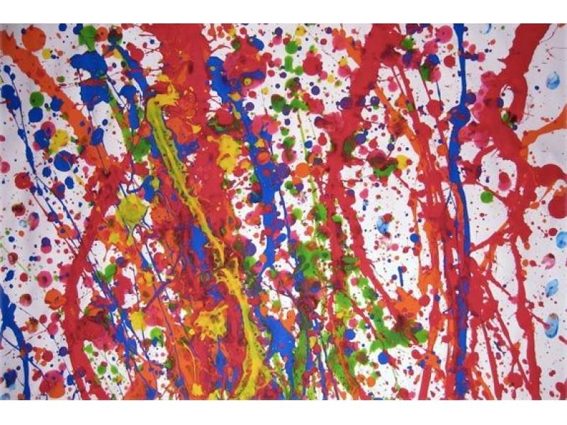 Jackson Pollock Drip Painting Workshop Riverhead Ny Patch