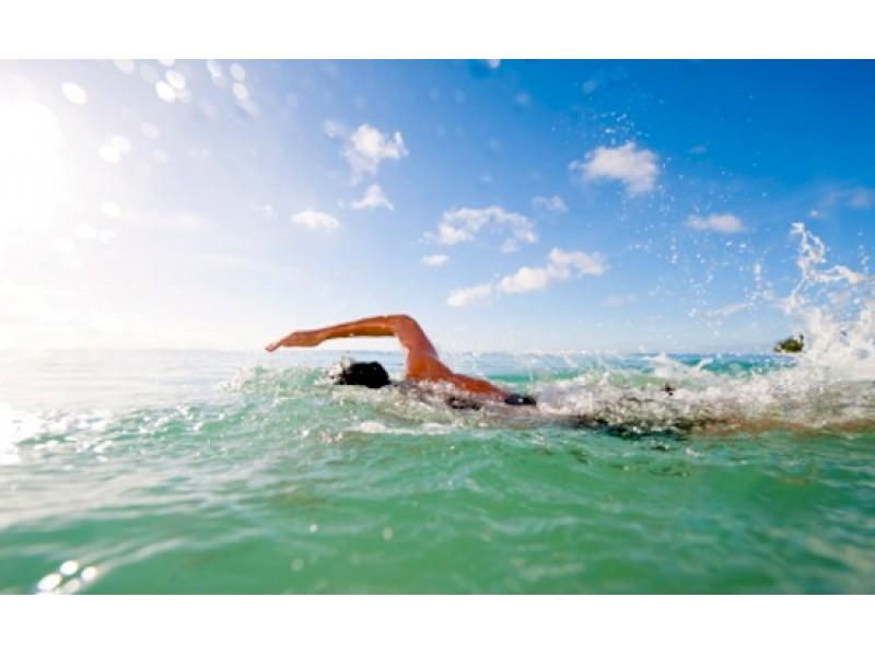 swim through the sea