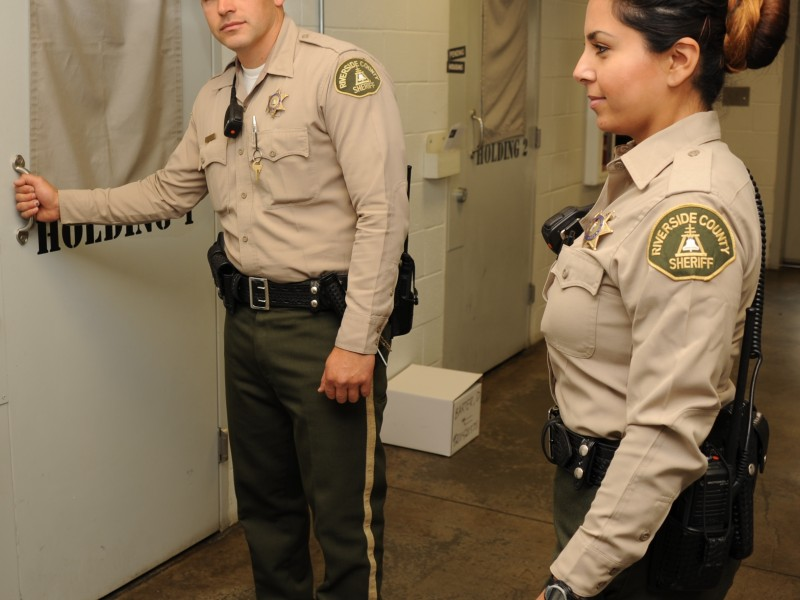 Career Fair with the Riverside County Sheriff's Department ...
