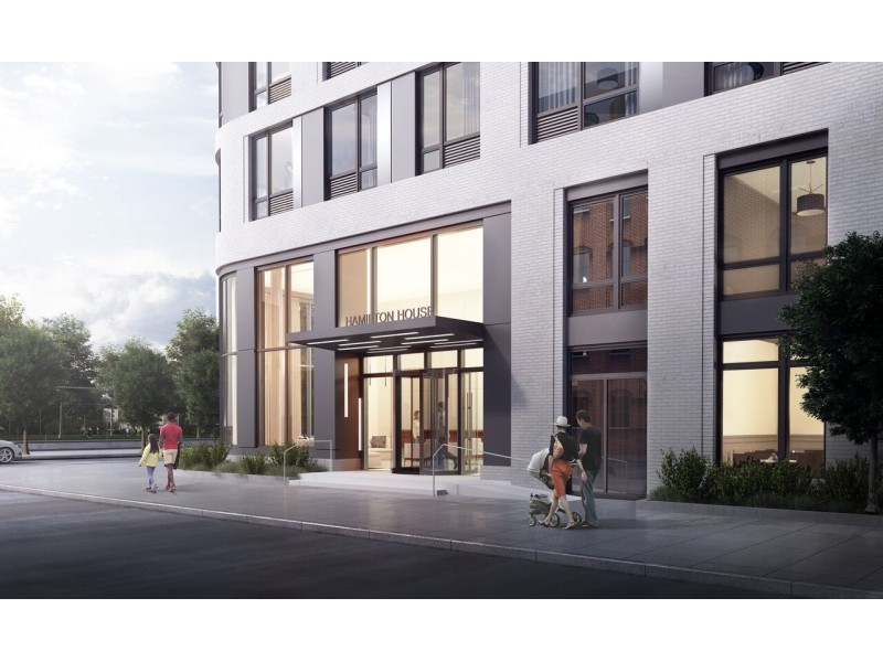 New Luxury Apartments Open Near Hoboken And Jersey City Border