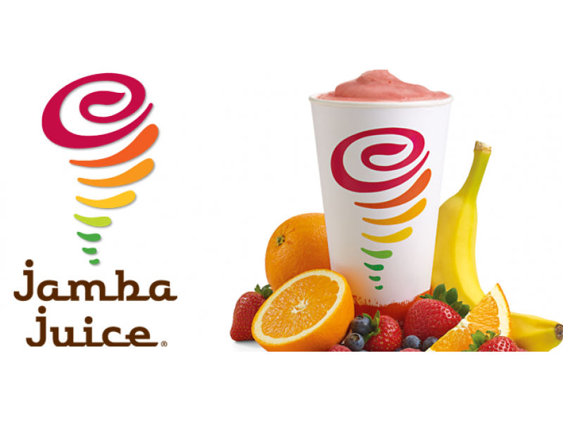 Jamba Juice makes it easy to snack well and eat healthy at the same time. The California-based smoothie chain delivers fruit and yogurt based treats along with healthy breakfast baked goods, wheatgrass shots, fresh-squeezed juice and organic tea.