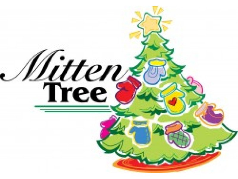 Image result for christmas mitten tree