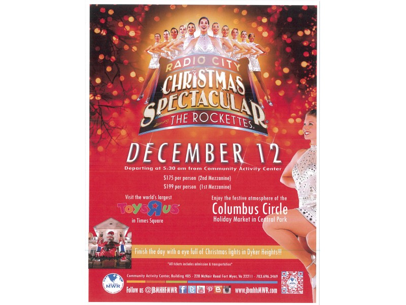 TRIP! NYC Radio City Music Hall: Christmas Spectacular - Arlington ...