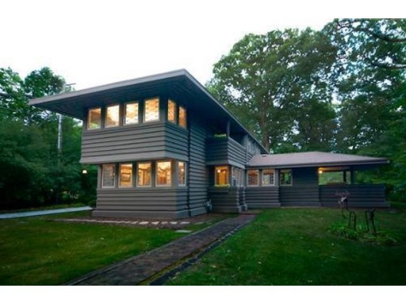 Sold Frank Lloyd Wright House Bought After Years On Market HIGHLAND PARK IL