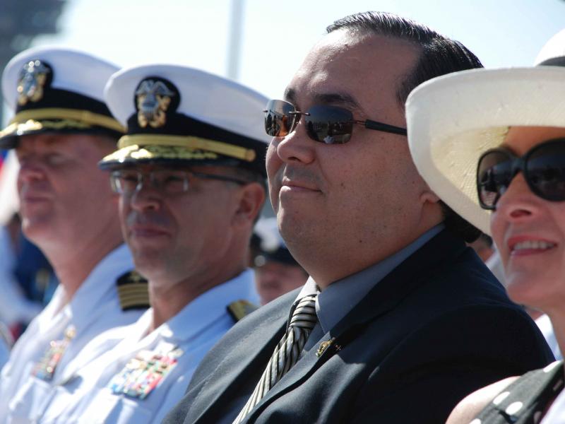 Change In Command At Naval Base Coronado