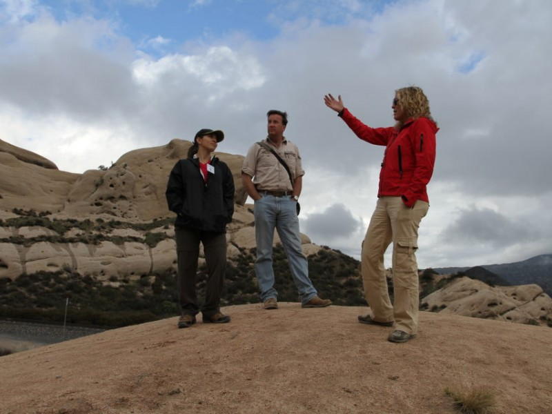 History Of Major Quakes On The San Andreas Fault Part Of Tour In Cajon Pass Redlands Ca Patch