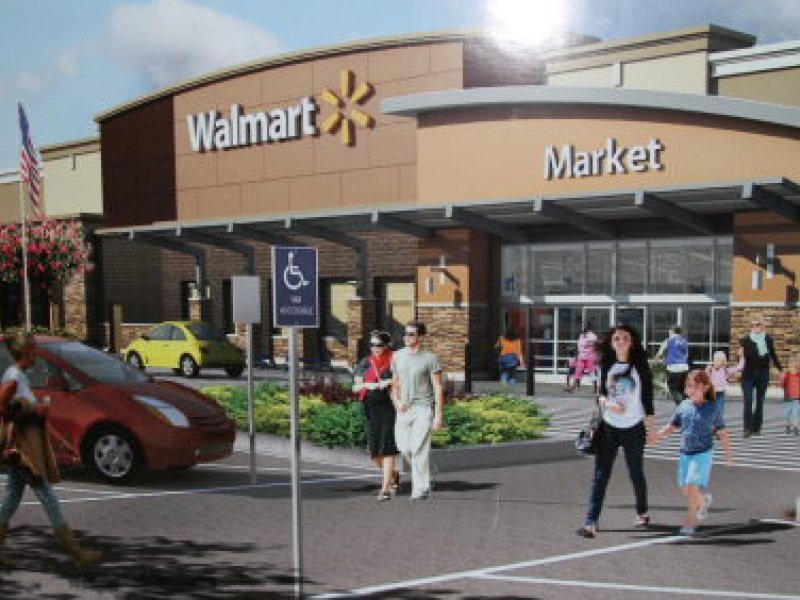 Walmart Reps Announce Plans To Open Store In Indio Palm
