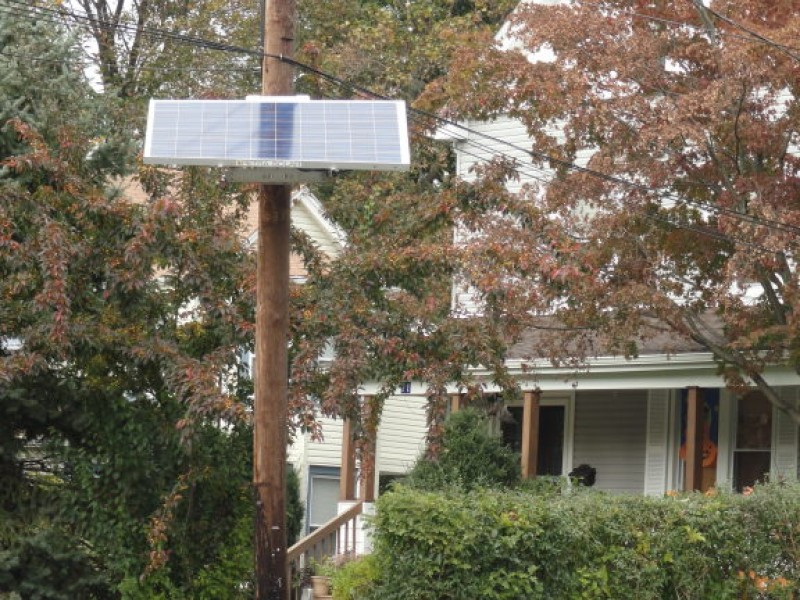 Solar Panels Now Coming To A Utility Pole Near You