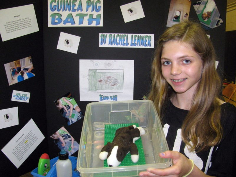Fifth Graders Ideas Realized At Invention Convention