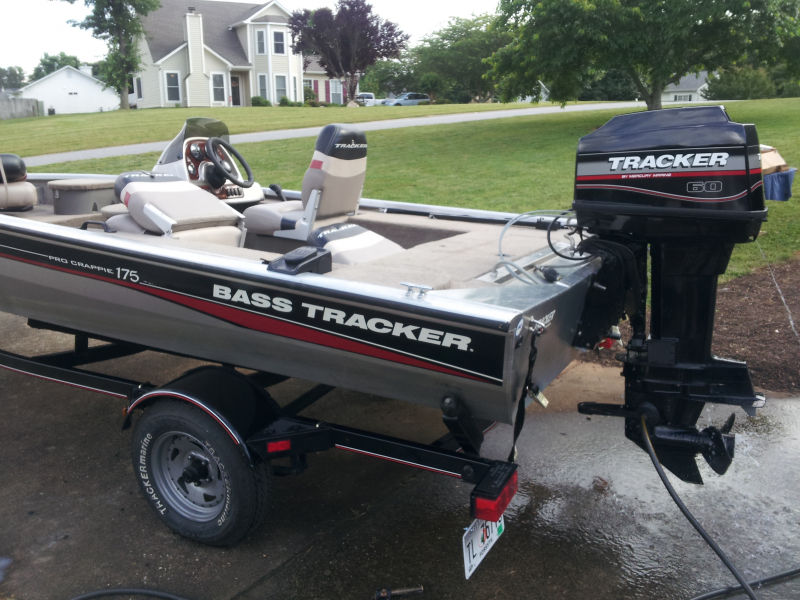 2004 bass tracker pro 175 crappie bass boat motor
