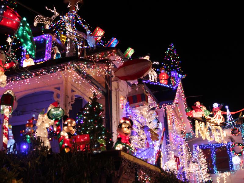 Slide Show: Best. Christmas Lights. Ever. - Santa Cruz, CA Patch