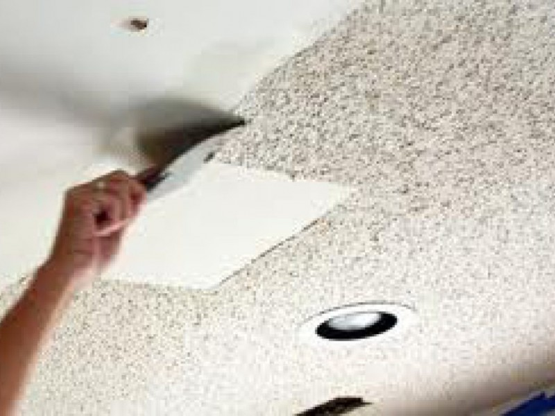 Amazing Popcorn Ceiling Removal