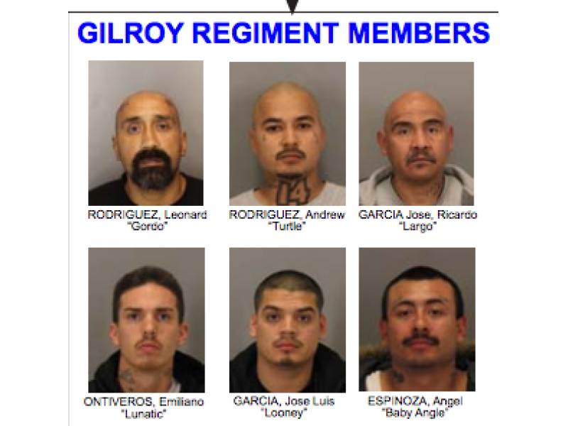 48 Gangsters Arrested — Names Released - Gilroy, CA Patch