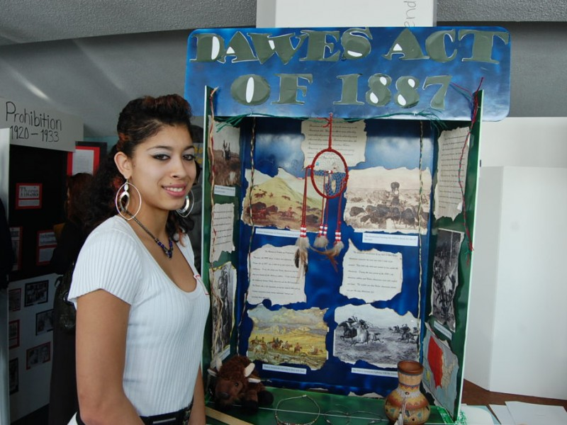 Rogers Students Present National History Day Projects