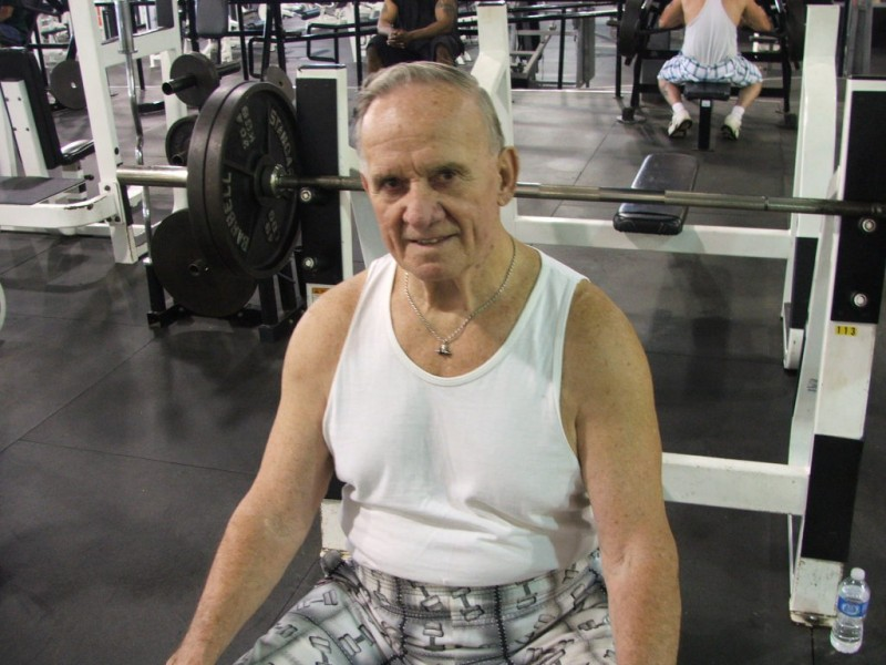 Superb Record Bench Part - 7: Dundalk Man, 80, Sets Bench Press Record - Dundalk, MD Patch