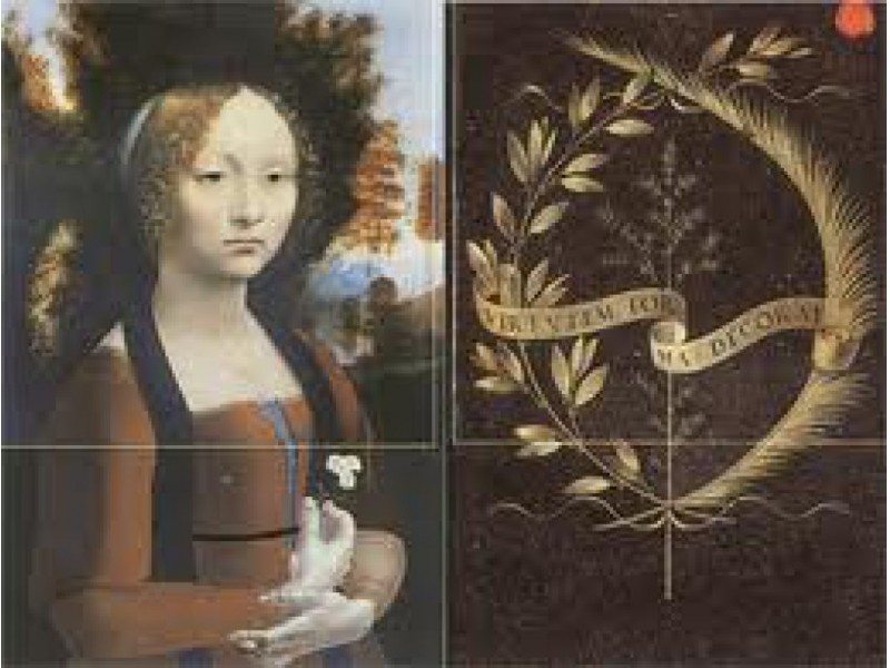 Art Leonardo Da Vinci And Ginevra De Benci Plymouth