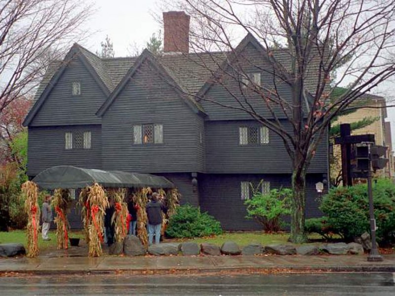 The Salem Witch House History Salem Ma Patch