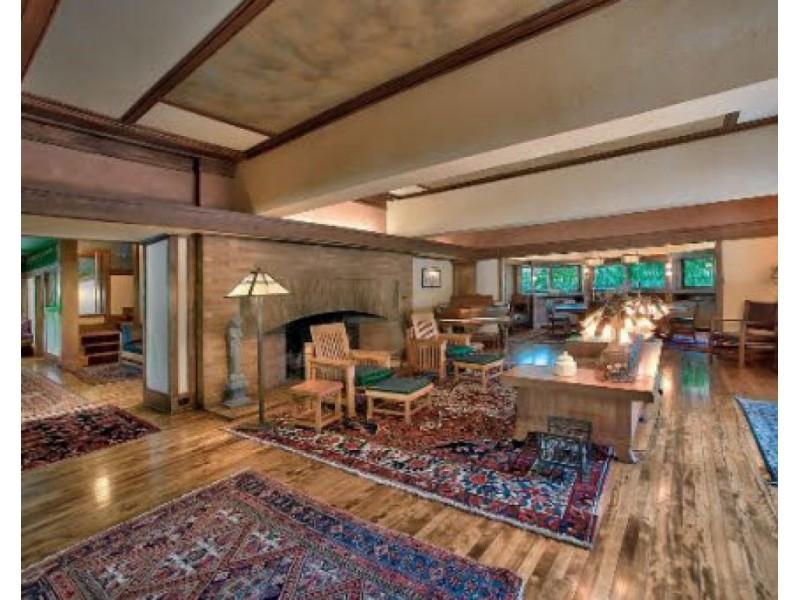 Frank Lloyd Wright Prairie Style frank lloyd wright prairie-style home in elmhurst for $1.4 million