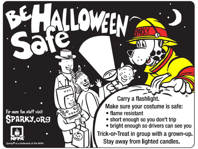 Stay Halloween Safe With A Few Fire Safety Tips From The New Lenox Protection District