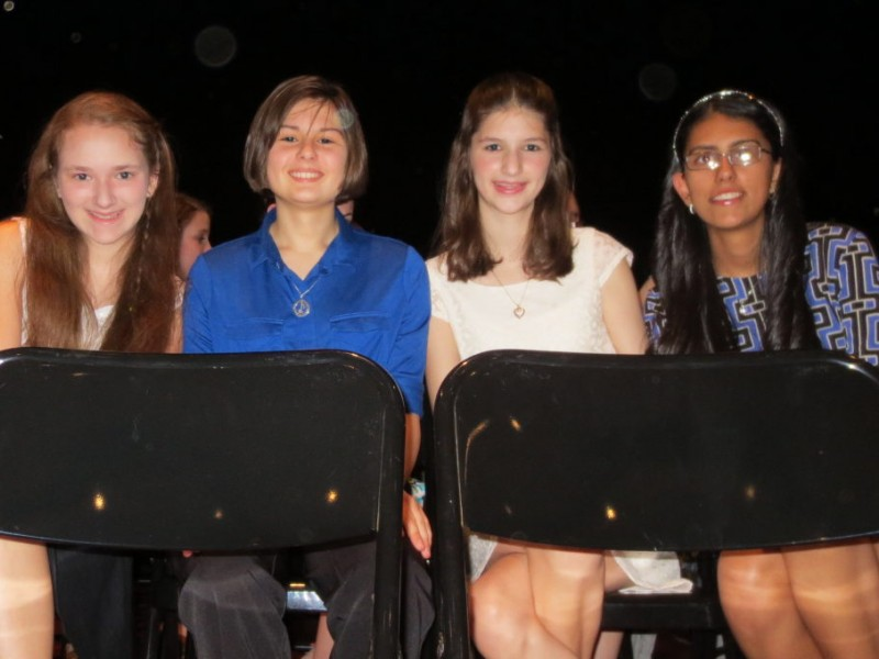 Eighth Graders Take Home Sports, Academic Awards