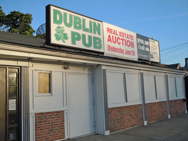 Dublin Pub To Go On Auction Block New Hyde Park Ny Patch