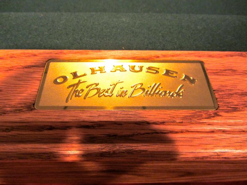 Pool Table 8ft Olhausen Sheraton Model Burlington Ma Patch